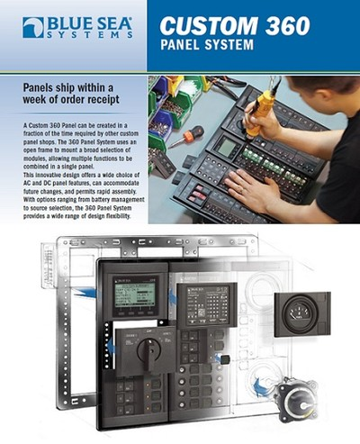 Blue Sea Systems 360 Panel System